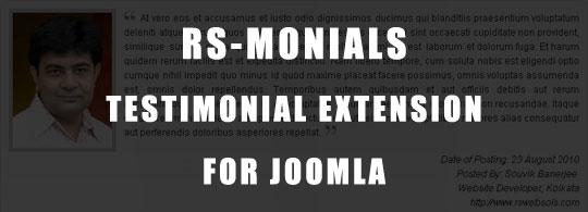 rsmonials