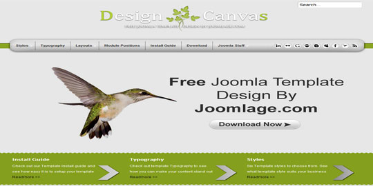 DesignCanvas By Joomlage