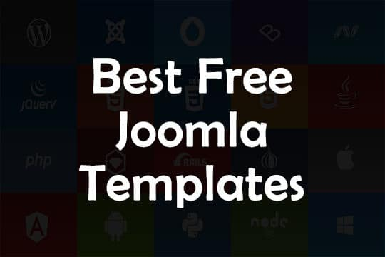 Best Free Joomla Templates