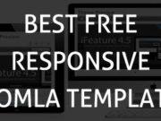 Best free responsive joomla templates