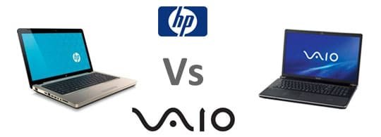Sony Laptops Vs HP Laptops