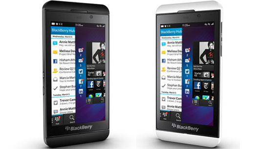 Blackberry Z10 Black White