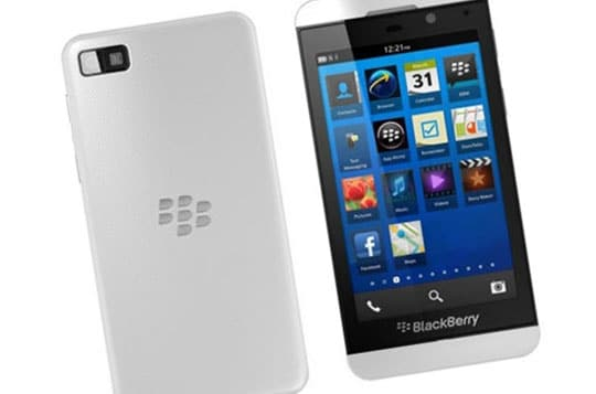 Blackberry Z10 Front Back Design