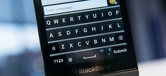 Blackberry Z10 Keypad