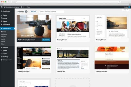 WordPress-Website-Building-Tool
