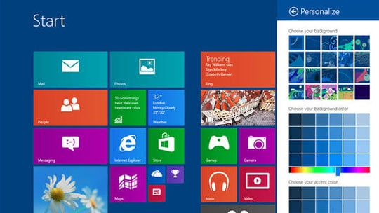 Windows 8.1 Personalization