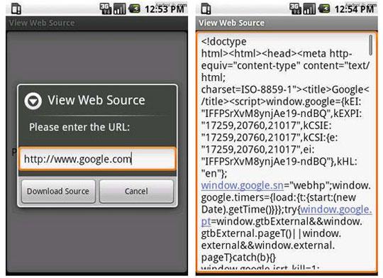 View-Web-Source