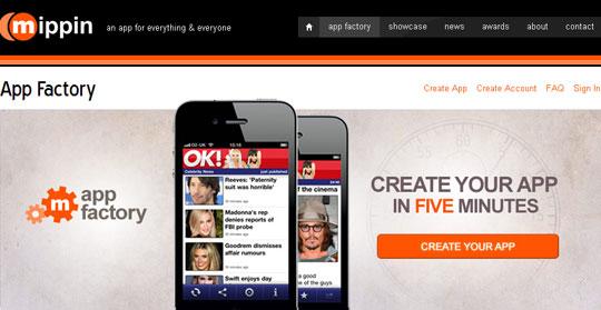 AppFactory - Mobile App Development