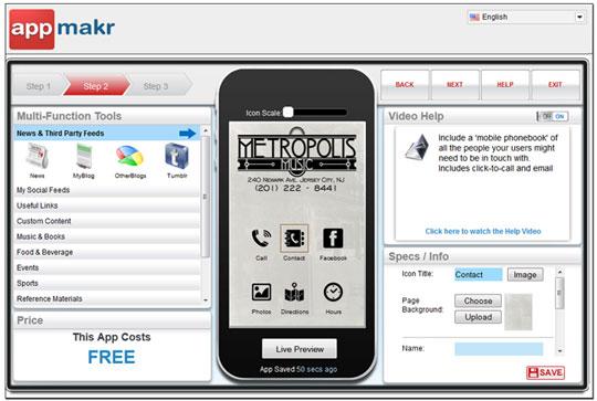 Appmakr - Mobile App Development