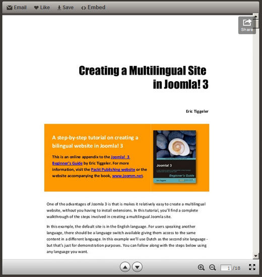 Creating-a-multilingual-site-in-Joomla-3-(Joomla-3-Beginner's-Guide)