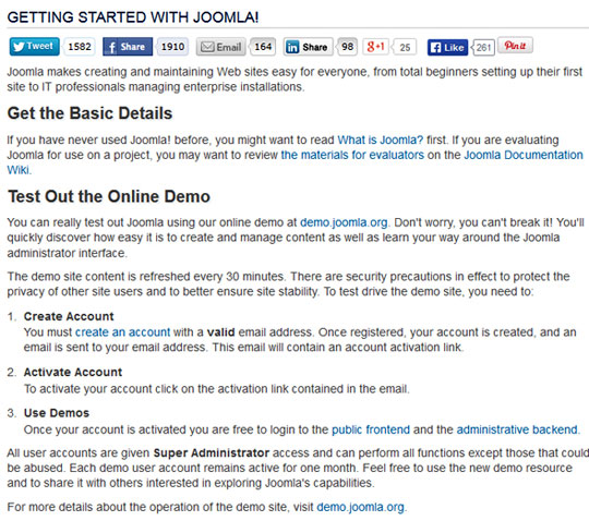 Getting-Started-with-Joomla!