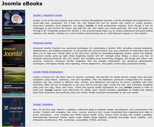 Joomla-eBooks