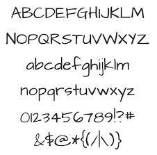 typography-hand-written