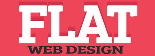 Web Designing Trends flat designs