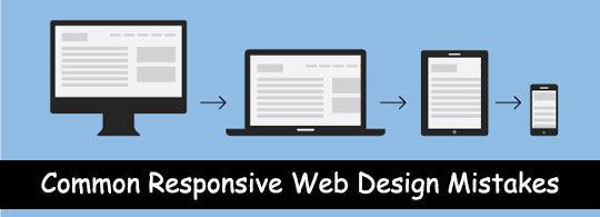 Responsive Design Mistakes