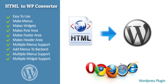 WordPress-Plugin-HTML-To-WordPress-Converter
