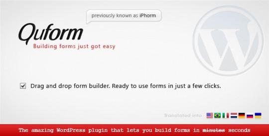 WordPress-Plugin-Quform-WordPress-Form-Builder