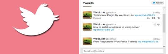 WordPress-Widget-Tweets
