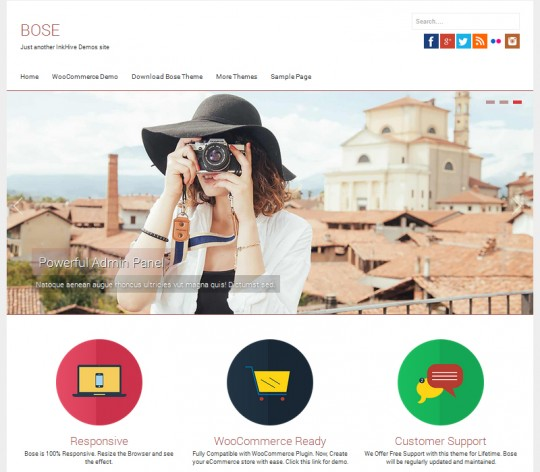 Bose-Responsive-WordPress-Theme