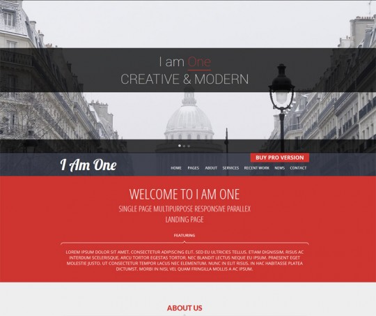 I-am-One-Responsive-WordPress-Theme