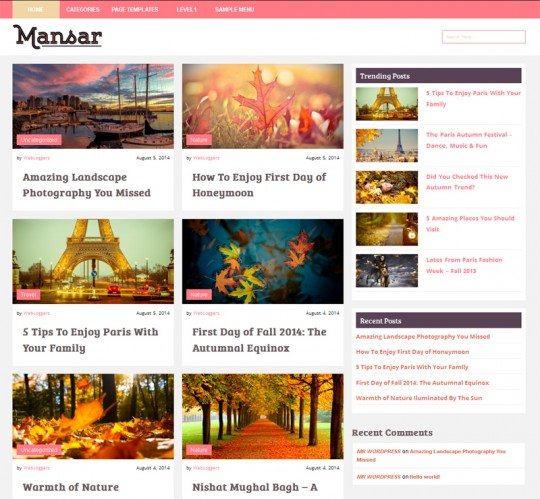 Mansar-Free-WordPress-Blog-Theme