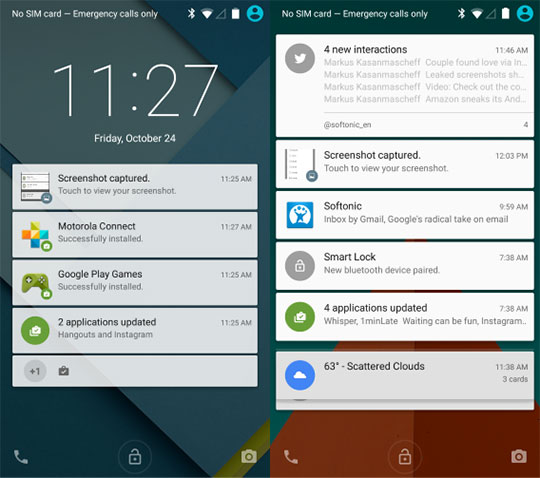 Advancement-of-Android-Lollipop-over-iOS-8-Smarter-Notification
