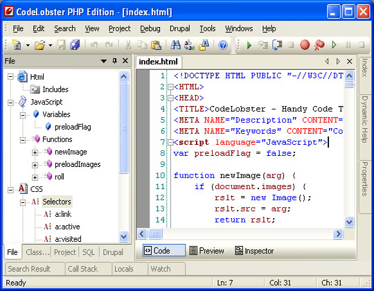 Codelobster-PHP-Edition-Editor-IDE