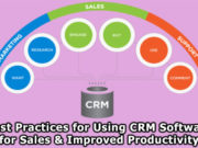 Best Practices for Using CRM Software for Sales and Improved Productivity