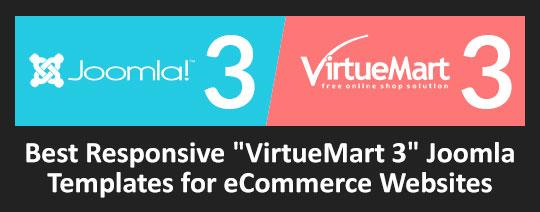 """Best Responsive """"VirtueMart 3"""" Joomla Templates for eCommerce Websites"""