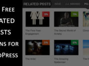Best Free Related Posts Plugins for WordPress