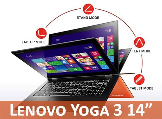 Lenovo Yoga 3 14 Laptop Review