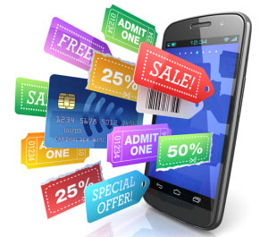 Mobile E-Commerce m-commerce-sell-offers