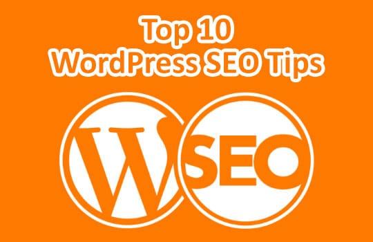 Top 10 WordPress SEO Tips