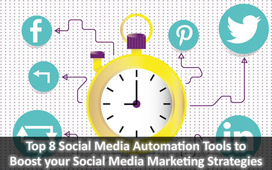Top 8 Social Media Automation Tools to Boost your Social Media Marketing Strategies