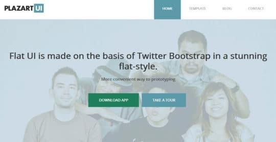 Plazart UI free joomla templates