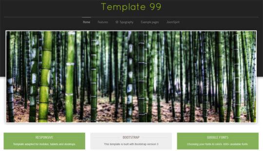 Template 99 free joomla templates