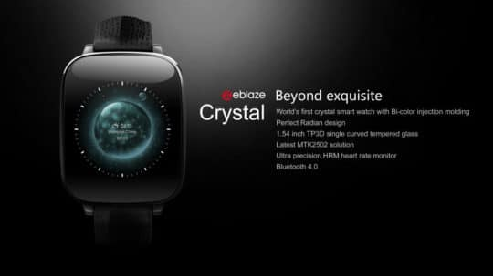Zeblaze Crystal Smart Bluetooth Watch - Additional Image 1