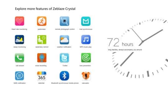 Zeblaze Crystal Smart Bluetooth Watch - Additional Image 12