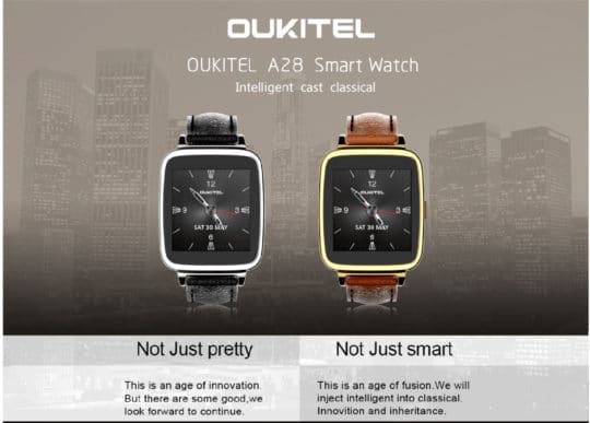 Oukitel A28 Bluetooth Smart Gear Watch - Additional Image 1