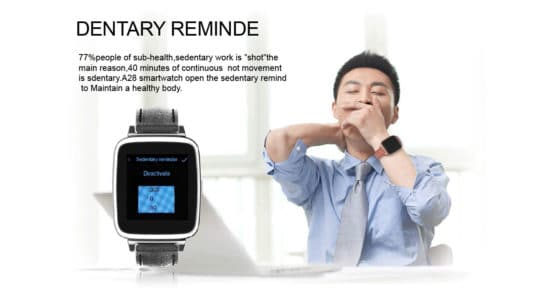 Oukitel A28 Bluetooth Smart Gear Watch - Additional Image 12