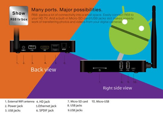 Beelink R68 TV Box (RK3368) - Android 5.1 - Additional Image 10