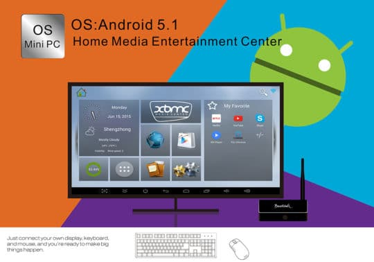 Beelink R68 TV Box (RK3368) - Android 5.1 - Additional Image 3