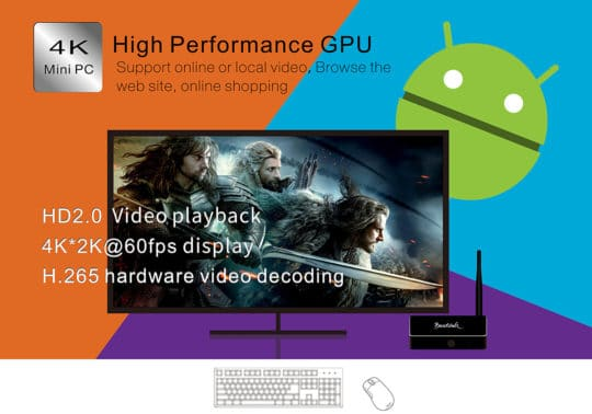 Beelink R68 TV Box (RK3368) - Android 5.1 - Additional Image 5