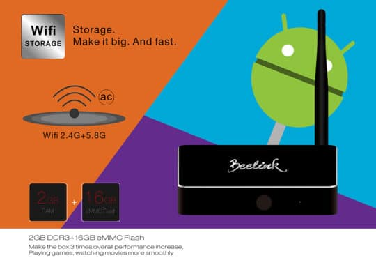 Beelink R68 TV Box (RK3368) - Android 5.1 - Additional Image 6