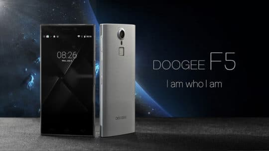 DOOGEE F5 4G Phablet (Smartphone) - Additional Image 1
