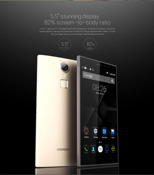 DOOGEE F5 4G Phablet (Smartphone) - Additional Image 6