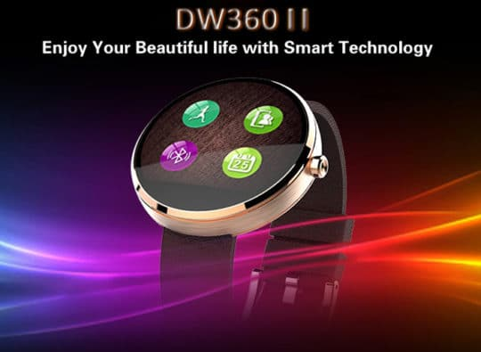 DW360 MTK2502 Smart Watch - Additional Image 1