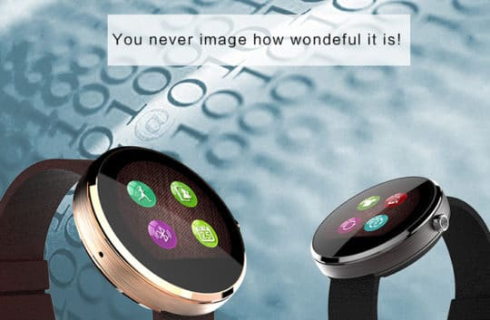 DW360 MTK2502 Smart Watch - Additional Image 12