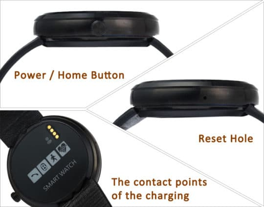 DW360 MTK2502 Smart Watch - Additional Image 17