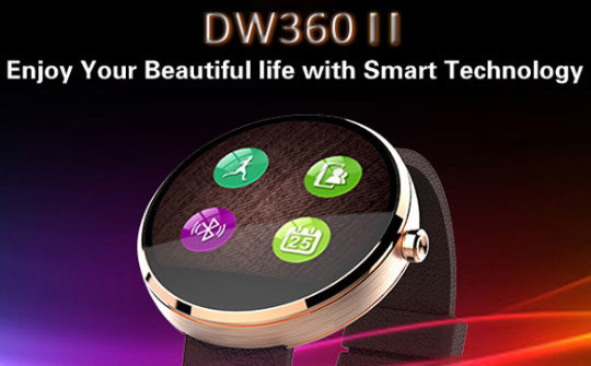 DW360 MTK2502 Smart Watch - Features & Specifications Review